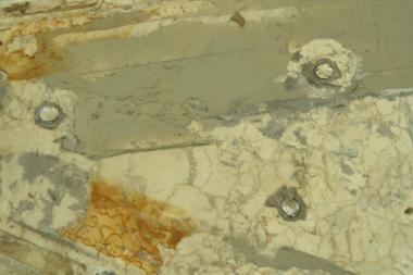 Stonecare - detail poškození mramoru