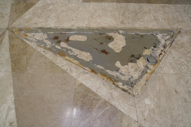 Stonecare - hluboce poškozený mramor
