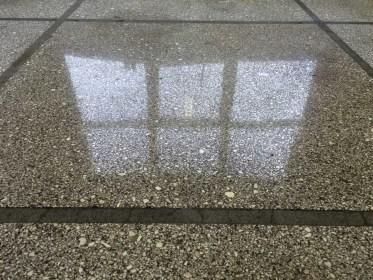 Detail průmyslové podlahy po renovaci