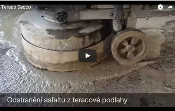 Renovace teraca – video